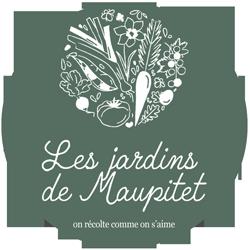 logo vert les Jardins de Maupitet vente directe de fruits légumes bio Ploubalay St Briac St Jacut