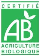 logo AB certife les Jardins de Maupitet vente directe de fruits légumes bio Ploubalay St Briac St Jacut