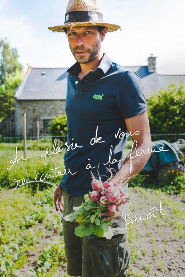 Benoit Guillo, producteur de fruits légumes bio à Ploubalay St Briac St Jacut